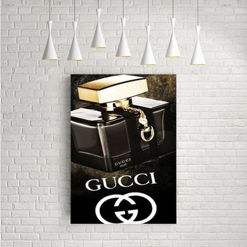 GUCCI OUD PERFUME ARTWORK POSTERS