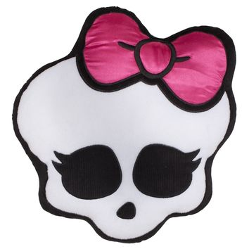 Party Favors Monster High Skull Logo Pillow Plush Backpack