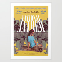National Anthem music video poster Art Print by Trash Magic