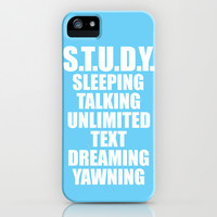 S.T.U.D.Y. iPhone & iPod Case by LookHUMAN