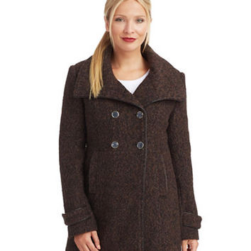 Steve Madden Wing Collar Coat