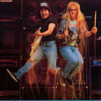 Wayne's World Party On 1992 Poster 22x30