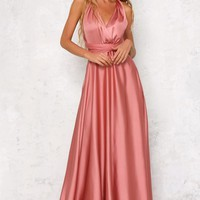 Memory Maxi Gown Pink