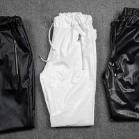 Indie Designs PRSVR Inspired Faux Leather Jogging Pants