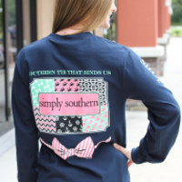Simply Southern Long Sleeve - Patchwork