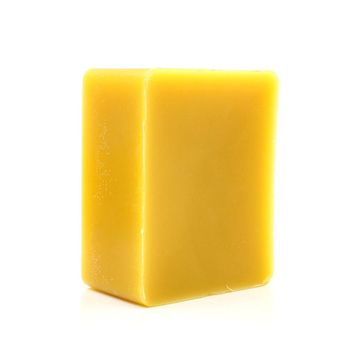 Hand Poured 100% Biological ORGANIC Natural Filtered Organic Pure Yellow/white Beeswax Candle Beeswax Block 2x2x1cm