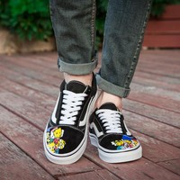 "Vans ""The Simpsons"" FS093 Skateboarding Shoes 35-44"