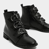 Third Time Lucky Buckle Bootie