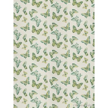 Charleston Maraca Peacock Novelty Fabric