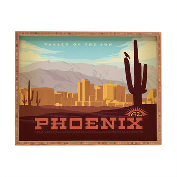 Anderson Design Group Phoenix Rectangular Tray