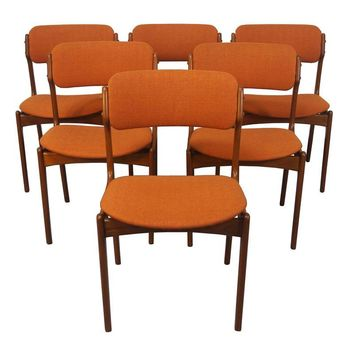 Pre-owned Erik Buch Danish Modern Teak Dining Chairs