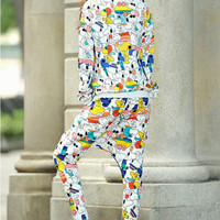 Loose Sports Leisure Women Suit