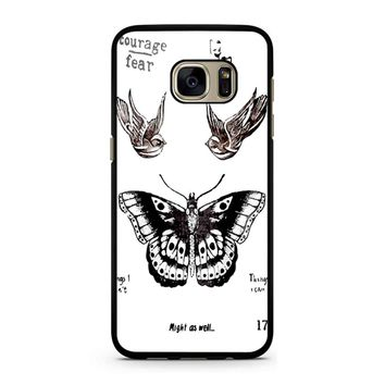 Tattoo Harry Style One Direction Samsung Galaxy S7 Case