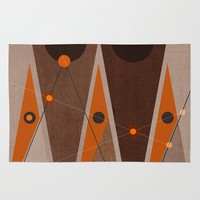 Geometric/Abstract 16 Rug by ViviGonzalezArt | Society6