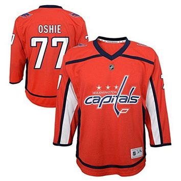 TJ Oshie Washington Capitals Youth NHL Red Replica Hockey Jersey