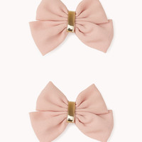 Double Bow Hair Clips