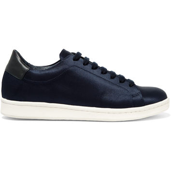 Iris and Ink Portland satin sneakers – 0% at THE OUTNET.COM