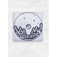 Moon Circle Wall Art