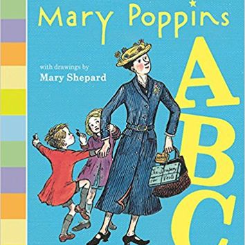 Mary Poppins ABC Board book – June 5, 2018