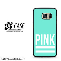 Pink Blue Victoria's Secret DEAL-8642 Samsung Phonecase Cover For Samsung Galaxy S7 / S7 Edge