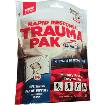 Adventure Medical Kits Rapid Response Trauma Pak with QuikClot 2064-0294
