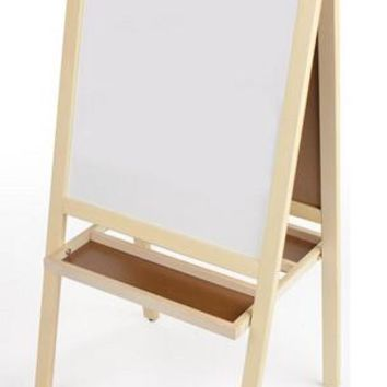 Childrens_Easel_with_Magnetic_Chalkboard,_Write-on_White_Board,_2_Sided,_2_Trays_19525
