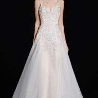 Hayley Paige 'Comet' Embellished Bodice A-Line Tulle Gown (In Stores Only) | Nordstrom