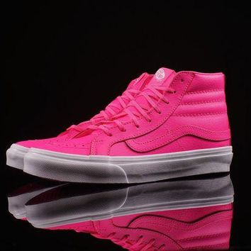 ONETOW VANS - UA SK8-HI SLIM (NEON LEATHER)