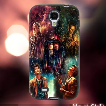 MC2601Z,2,doctor who,tardis,nebula,galaxy -Accessories case cellphone-Design for Samsung Galaxy S5 - Black case - Material Soft Rubber