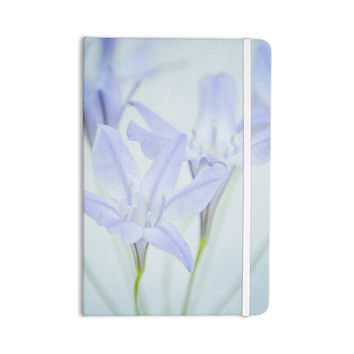 "Iris Lehnhardt ""Triplet Lily"" Flower Blue Everything Notebook"