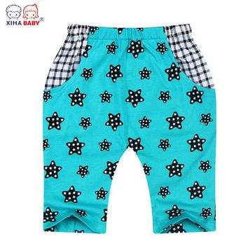 XIHA BABY Infant Kids Boys Girl Pants Legging Toddler Cotton Casual Trousers Summer Style Pants Baby Clothing