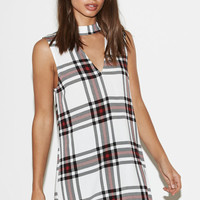 Kendall and Kylie Printed Keyhole Shift Dress at PacSun.com