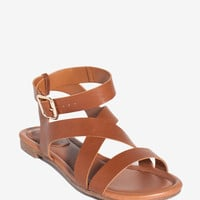 Ruby-54 All Strapped In Sandal