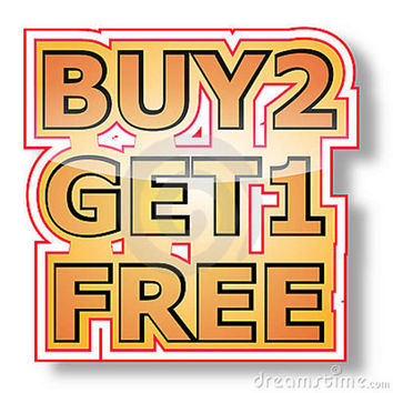 Buy 2 get 1 free nail decal sets