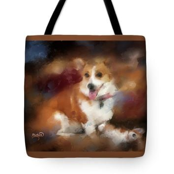 "Time for Play Tote Bag 18"" x 18"""