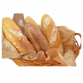 Rustic French Bread Loaves Fake