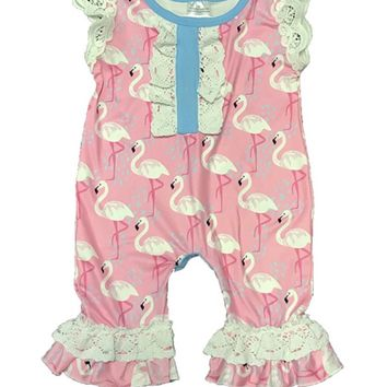 Infant Flamingo romper