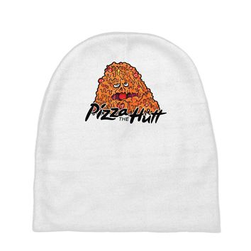 pizza the hutt   spaceballs Baby Beanies