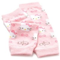 Hello Kitty by BabyLegs Itty Bitty Kitty Legwarmers, Light Pastel Pink, 0-3 Months