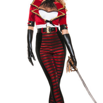 Deluxe Midnight Pirate Costume