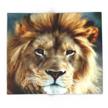 Society6 LION - Aslan Blanket