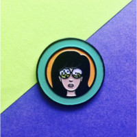 Daria - Let it Burn -- Enamel Pin