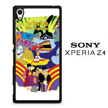 The BeatlesYellow Submarine Y0121 Sony Xperia Z4 Case