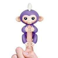 Fingerlings Baby Monkey Interactive Colorful Smart Toy