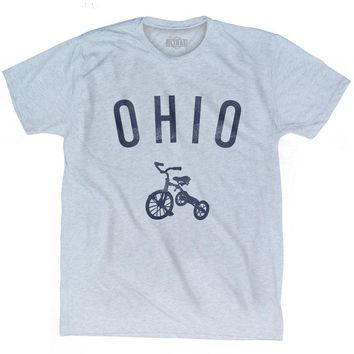 Ohio State Tricycle Adult Tri-Blend T-shirt