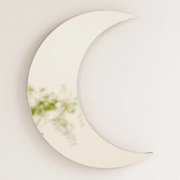 Crescent Moon Mirror | Urban Outfitters