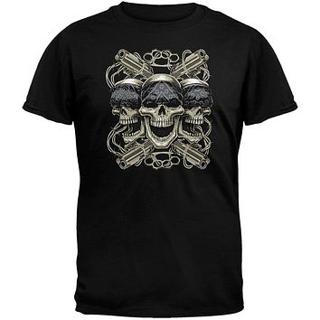 Lethal Threat - Thug Life Black T-Shirt