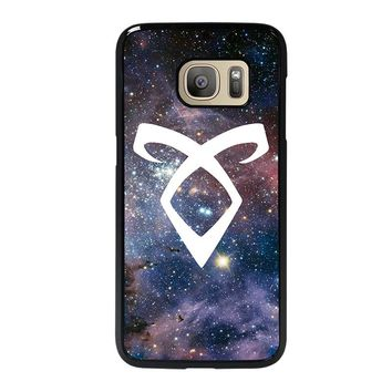 SHADOWHUNTERS ANGELIC RUNE NEBULA Samsung Galaxy S7 Case Cover