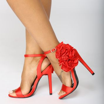 Dance The Night Away Heels - Red