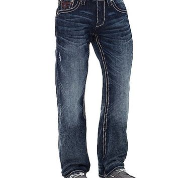 Rock Revival Echter Relaxed Straight Jean